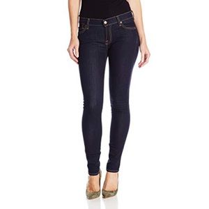 7 for All Mankind The Skinny Jeans Rinsed Indigo